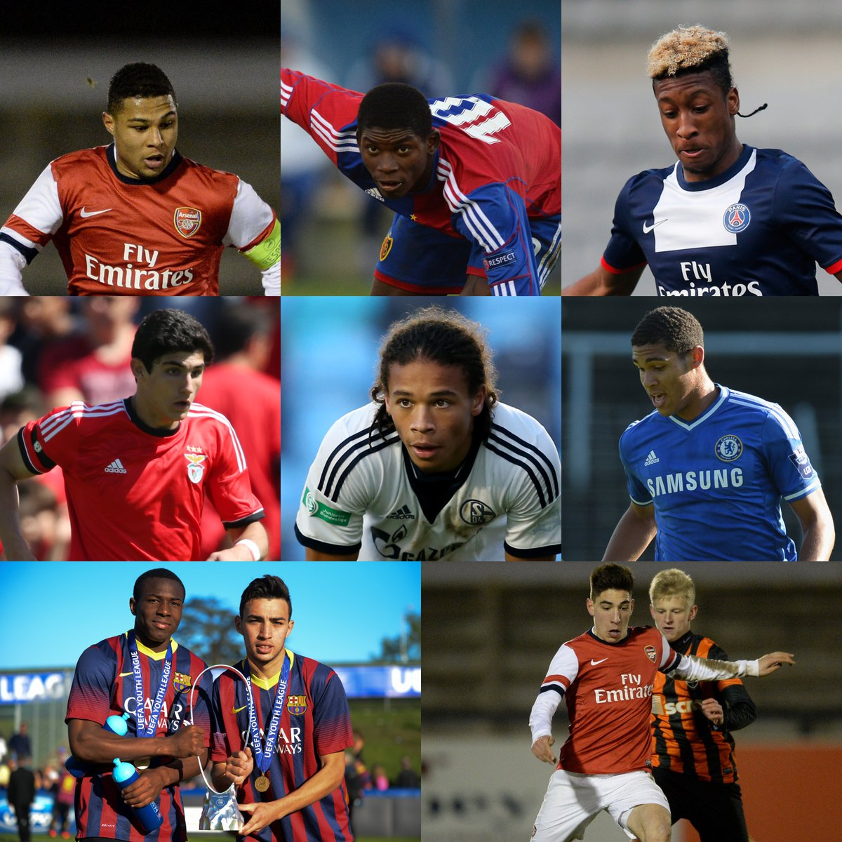 🔟 future stars in action during the first #UYL season of 2013/14🌟  How many can you name?🤔 https://t.co/NeTzILPxvQ