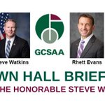 Image for the Tweet beginning: Join GCSAA for a discussion