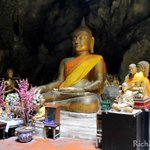 Image for the Tweet beginning: Tham Khao Luang Cave in
