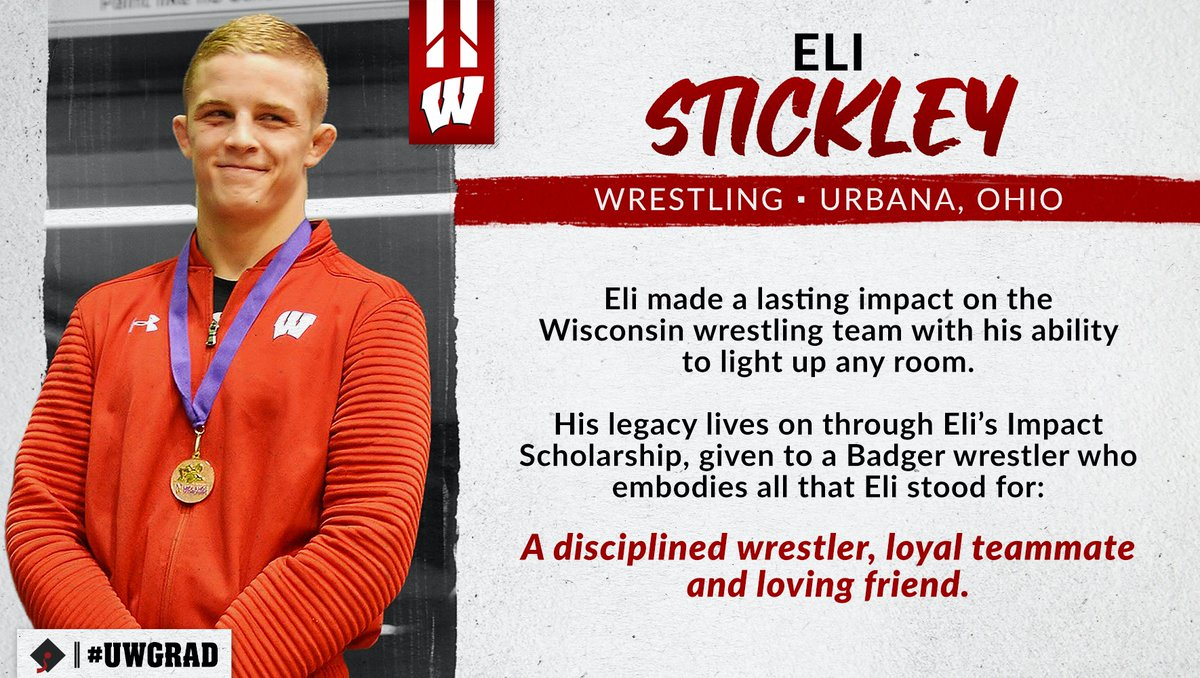 Forever with us.  Forever a Badger. Thank you, Eli Stickley  #UWGrad https://t.co/lZa08sI5Wd