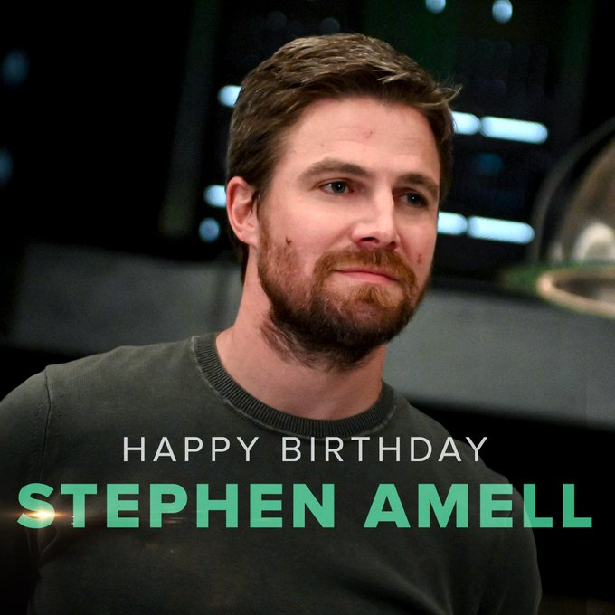 The Arrowverse isn\t the same with you. Happy Birthday, Stephen Amell!