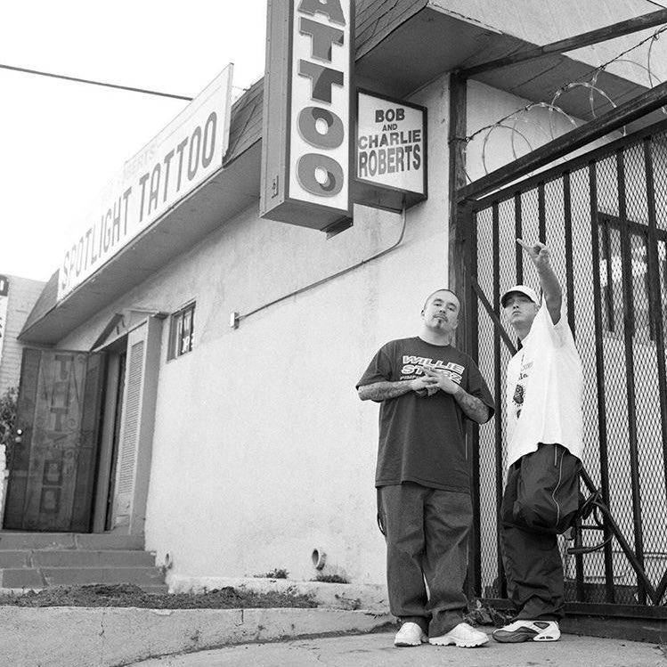 #RarePic   Eminem & Mr. Cartoon