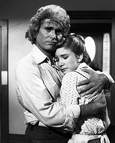 """Happy birthday to Melissa Gilbert, seen here with Michael Landon in \""""Little House on the Prairie\""""."""