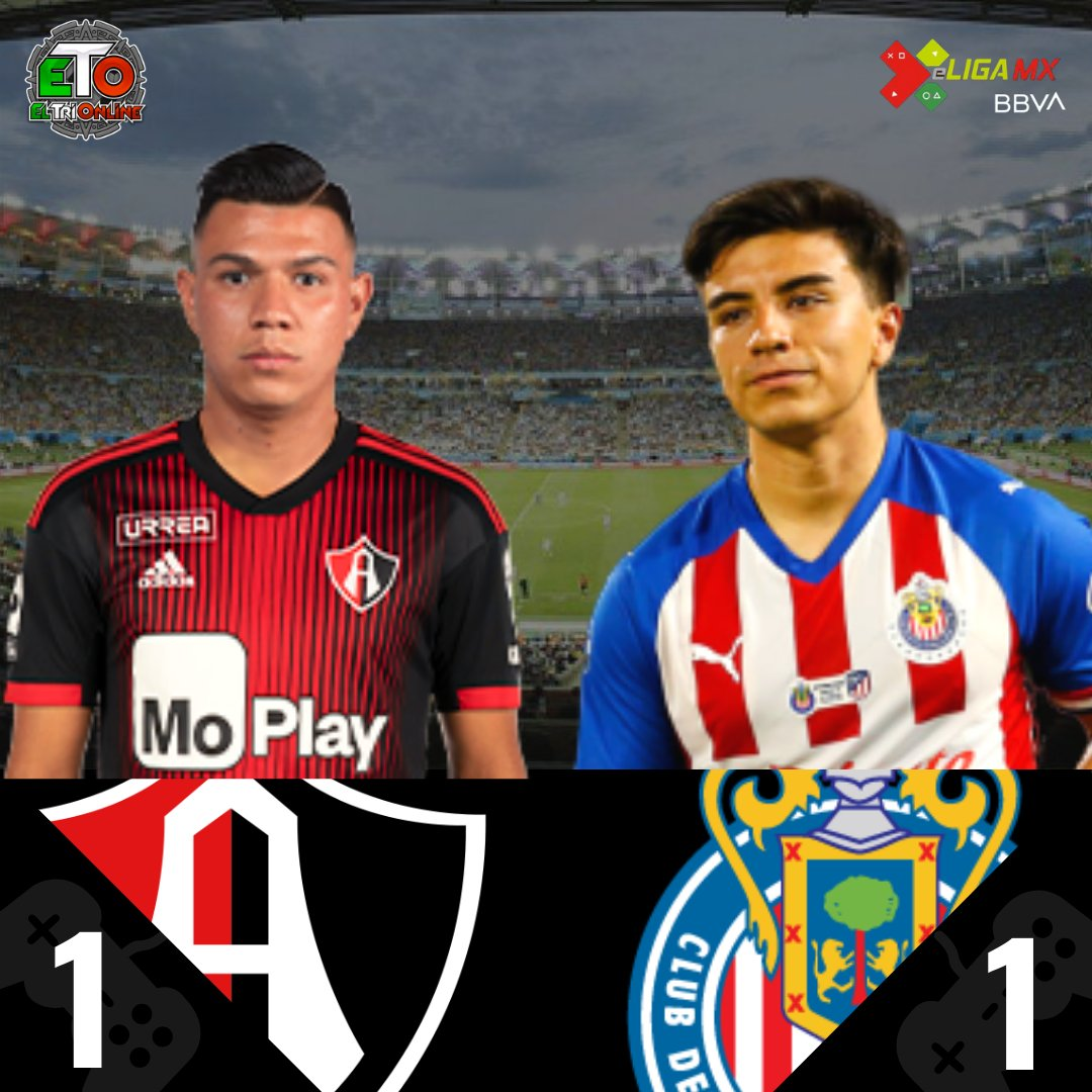 """El Clasico Tapatio"" ends in a tie.  #Teamjairo 1- 1 #TeamBeltran  #eLigaMX #Futbol #Football #Soccer https://t.co/FWb7PHZzwg"