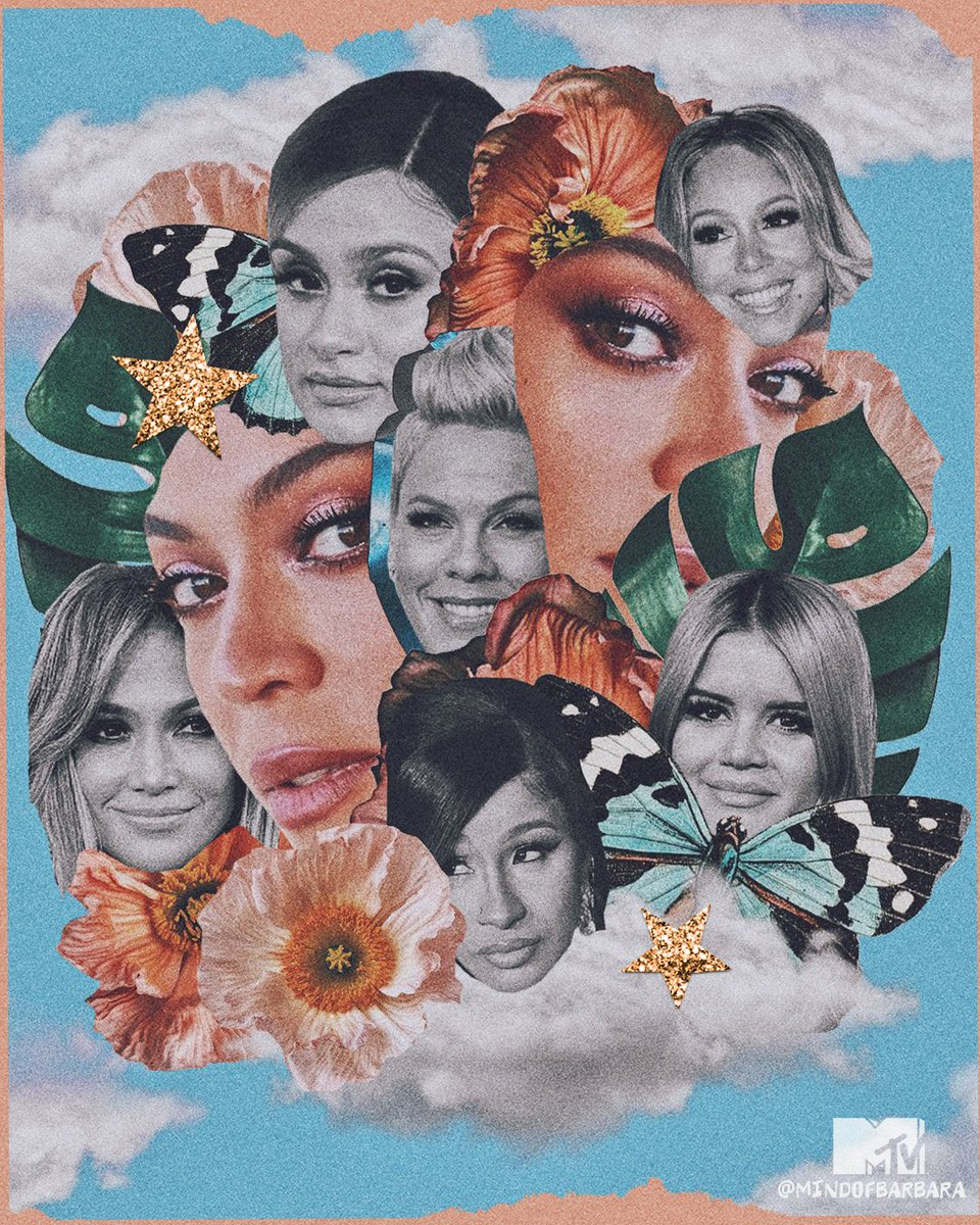 From @Beyonce to @iamcardib, @JLo and more amazing mammas, we're wishing everyone the happiest #MothersDay!! 💖  🎨: @mindofbarbara #MTVxMindOfBarbara