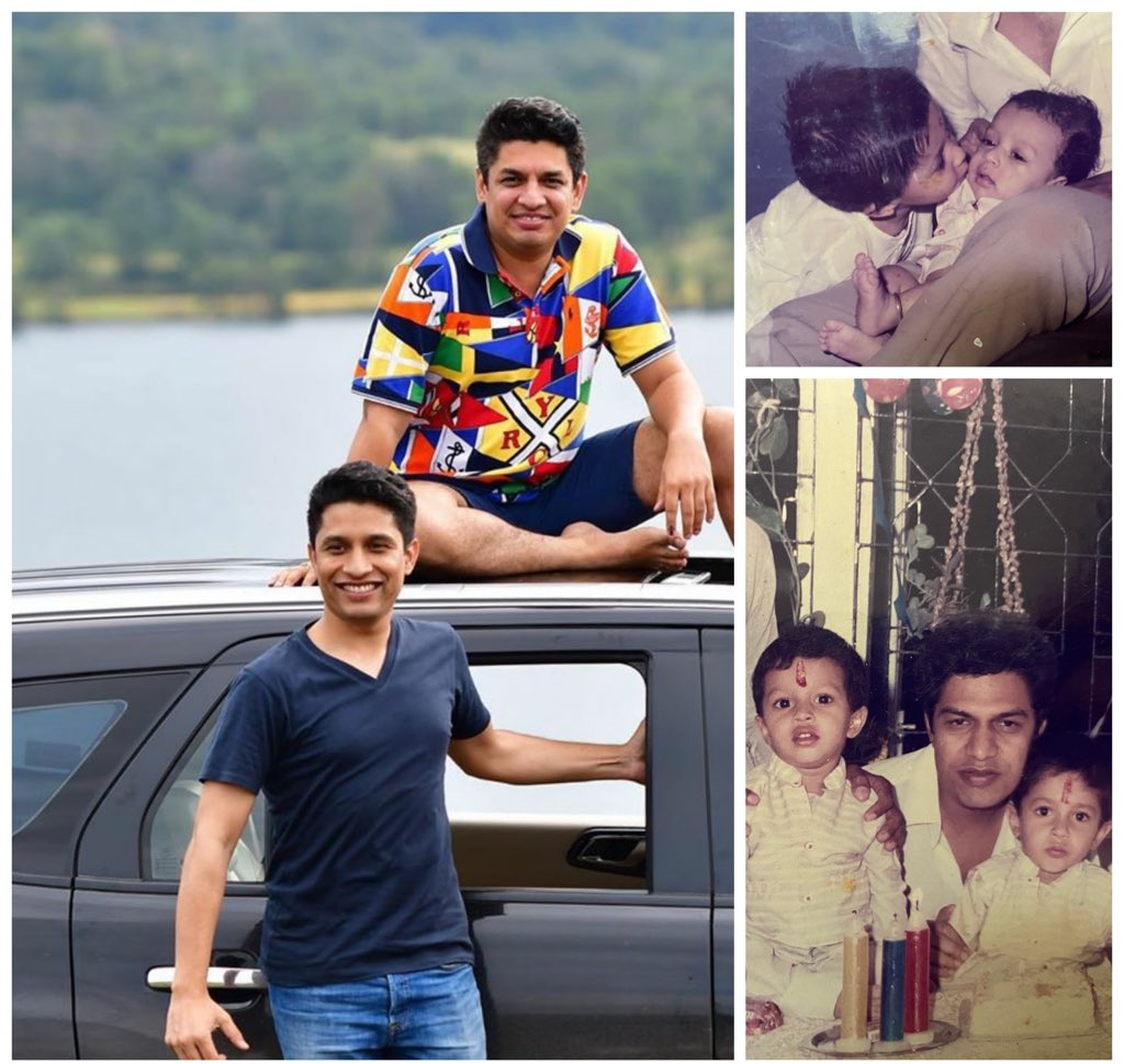 No Man is a true believer unless he desires for his brother that which he desires for himself ! Thats my baby brother Dr. Harshal ! Happy birthday to you !!