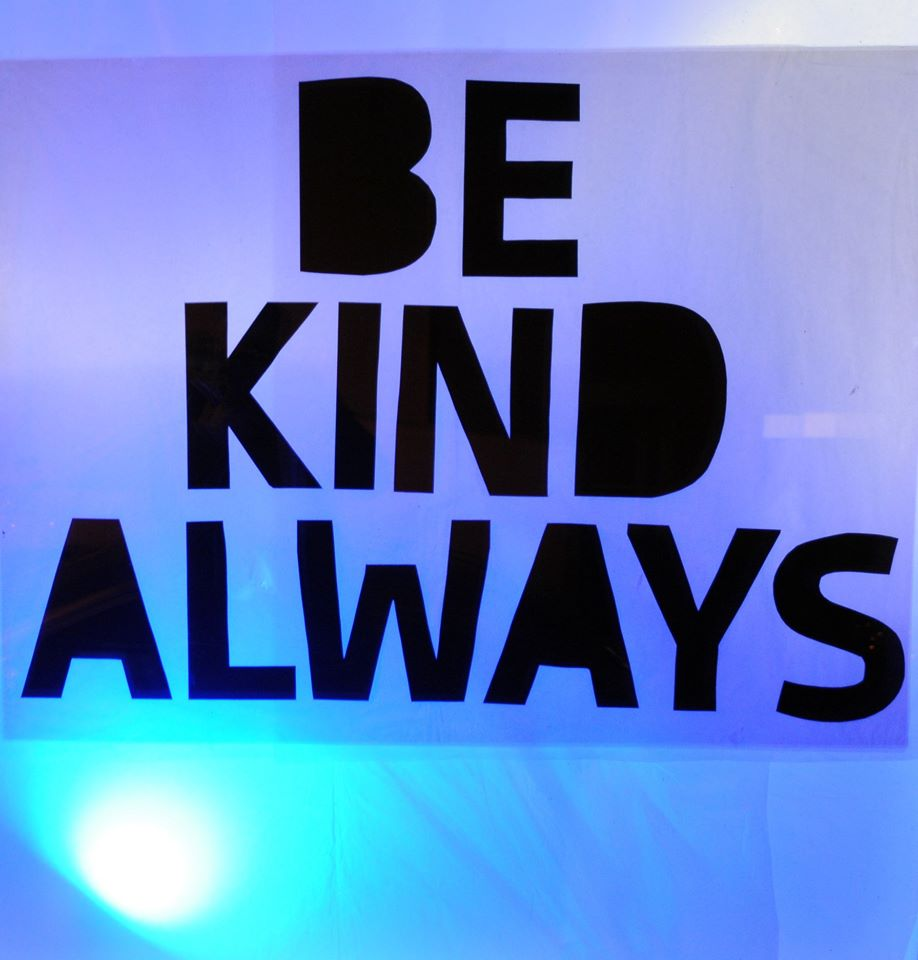 Remember to be kind to yourselves...
