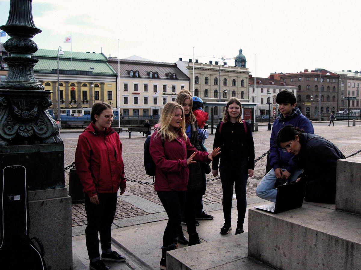 #FridaysForFuture #Klimatstrejk 8e maj 2020 i Göteborg! Idag hade vi en workshop och diskussion om #klimaträttvisa - och vad FFFs krav egentligen innebär. Tack till alla som deltog, både på torget och online! 🌍✊💙 @KlimatsamlGbg @FFF_Sweden @Fridays4future