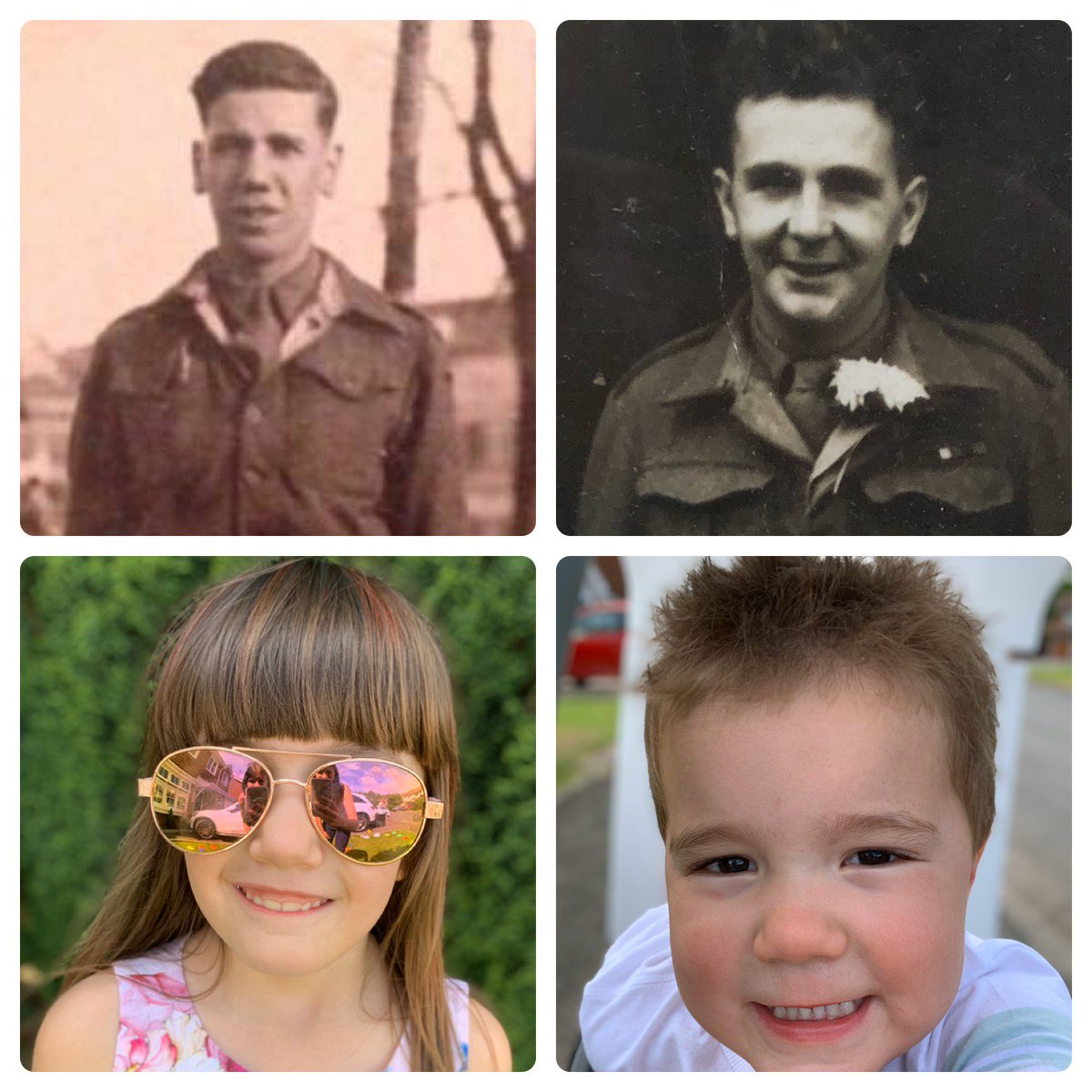 Celebrating the past (especially my two grandads who both fought in WW2) whilst making memories with the future (my two children) #VEDay75 #familytime