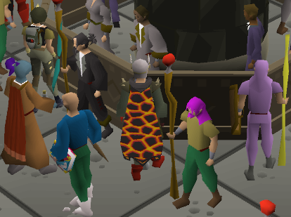 Seerz - Holy crap this dude has Infernal cape on DMM