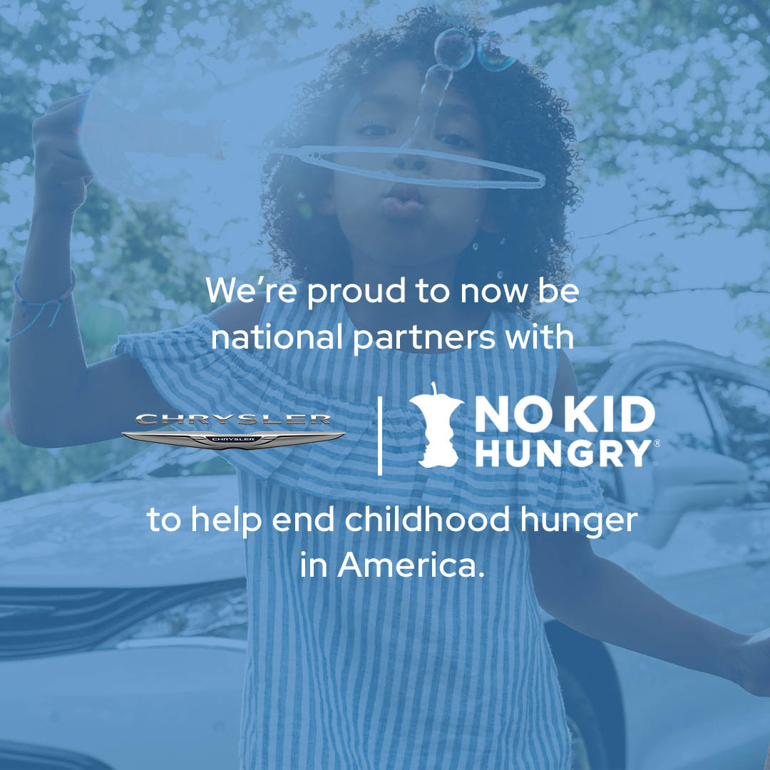 Families are our top priority. That's why @FiatChrysler_NA and Chrysler are expanding our commitment with @NoKidHungry and supporting its grantees to help feed kids who are missing the school meals they rely on due to COVID-19. #InItTogether https://t.co/RZ31RzwuJ3