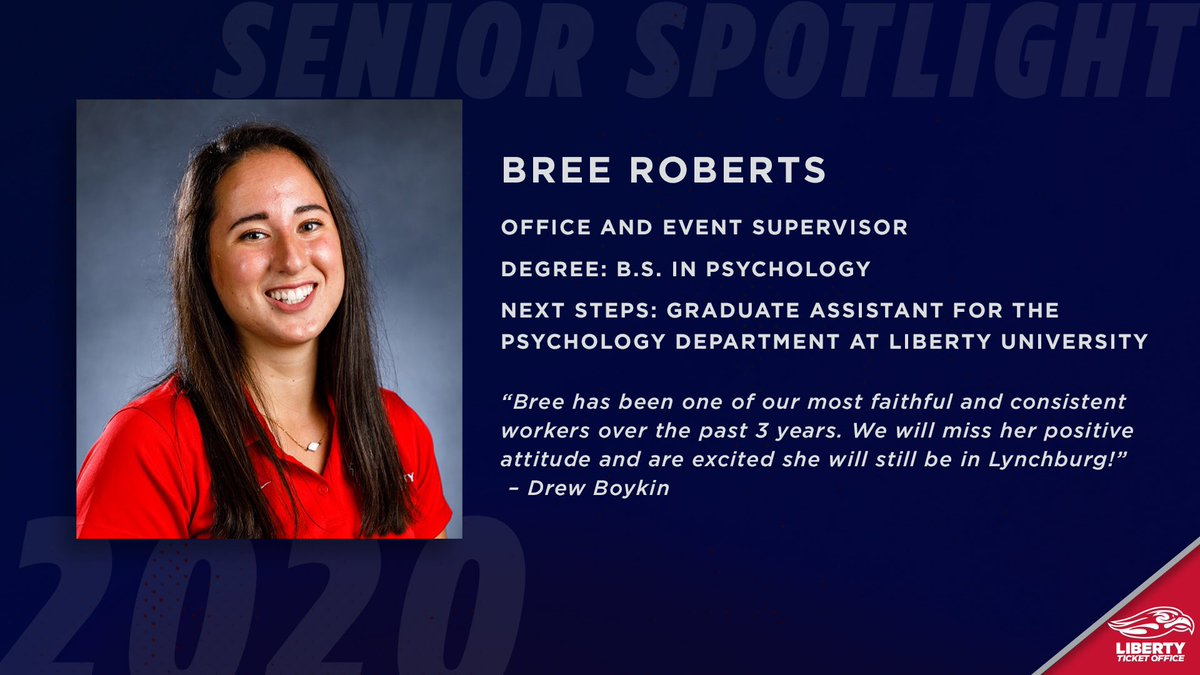 Next up is Bree! She has been with the ticket office for 3 years and moved up to being a supervisor for us.   Congrats Bree! https://t.co/17Mya7QyxO