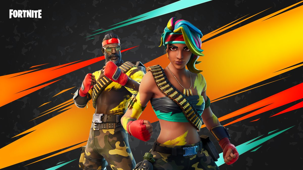 Fortnite On Twitter Bringing Bright Colors To The Jungle And Ferocity To The Battlefield Bandolier And Bandolette Return Check Them Out In The Item Shop Now Https T Co B6zw00l23r Analize official twitter account of fortnite (@fortnitegame) by words and their repeats of last year. fortnite on twitter bringing bright