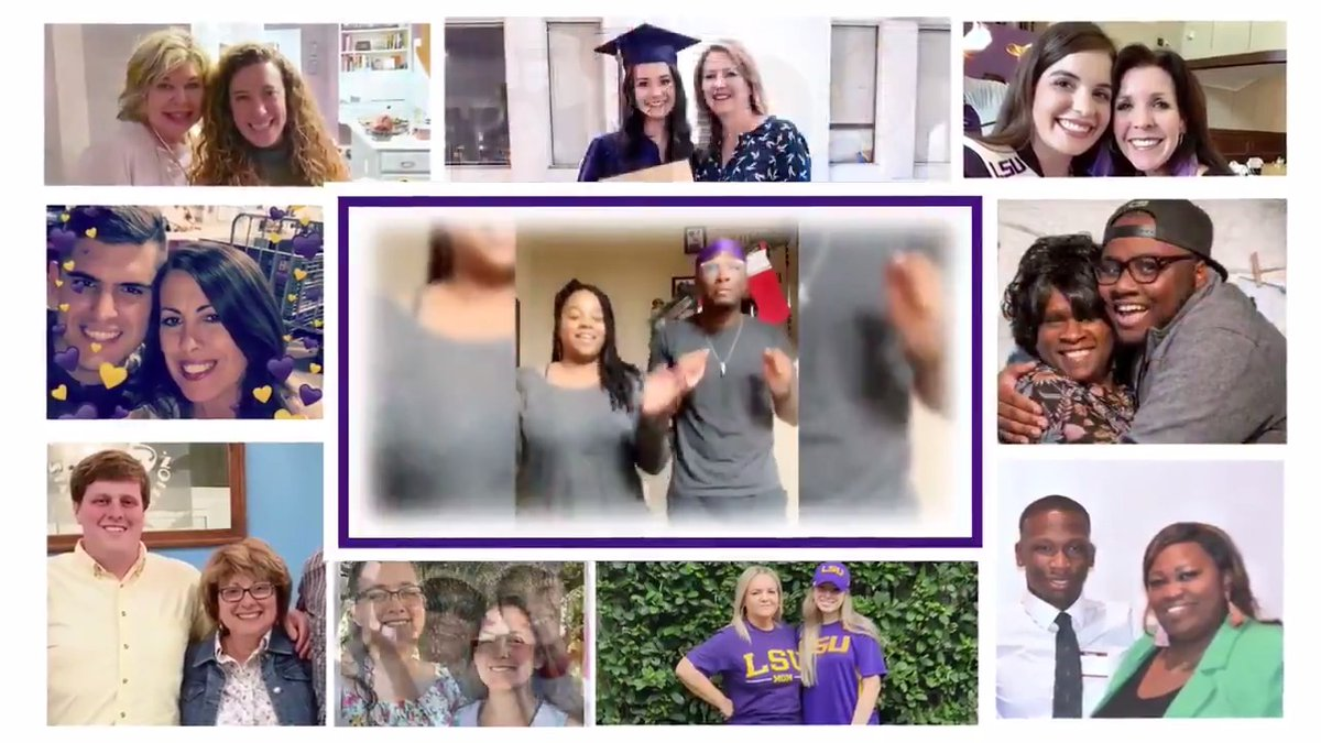 We asked the LSU family to share why they're thankful for their mom, and they delivered. #MothersDay