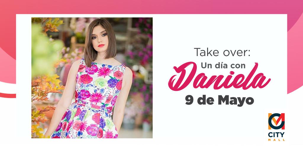 Este #TakeOver con Daniela no te lo podes perder.😍 ¡City Mall apoya el arte y talento hondureño! 💙 #TalentoCuarentena #CityMallHND #CAM https://t.co/m7fLemNY3Q