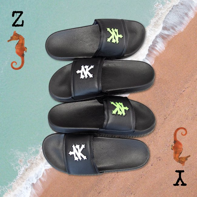 "The Z-Y of seahorses 🌊🐎⁣ 🔎 ""ZOO YORK MENS GRAPHIC SLIDER SANDALS""⁣ 50% OFF NOW $8⁣ #west49 #w49 #zooyork https://t.co/mK7C9LONho"