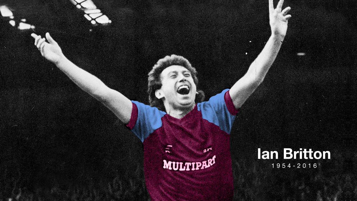 In memory of Ian Britton. RIP. #BackToTheFixture