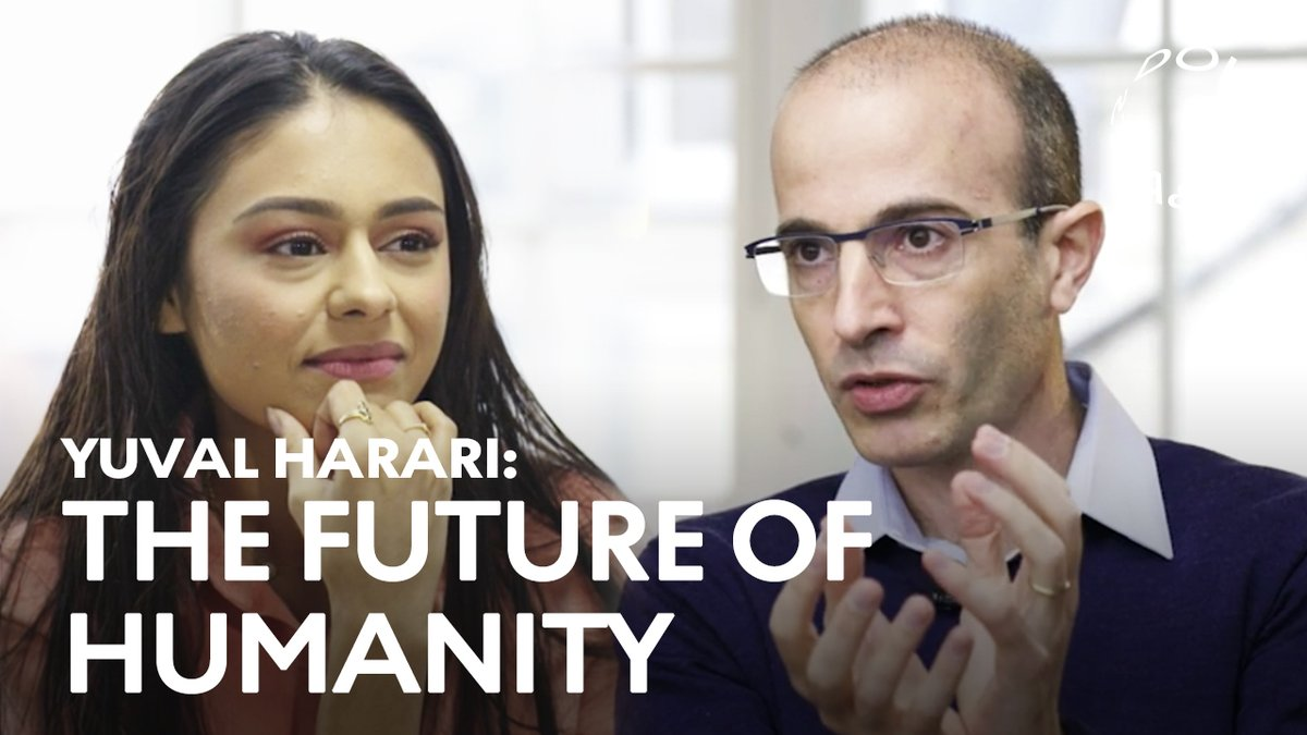Our world is at a turning point: #COVID19 is spreading, markets are fluctuating, surveillance tech is evolving and populist sentiments are rising.  Earlier this year, we sat down with @harari_yuval, one of the world's leading intellectuals, to talk about the future of humanity. https://t.co/EbfsymysNf