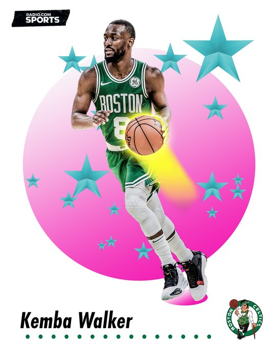 We gave the 91-92 Skybox treatment. Happy Birthday, Kemba Walker!