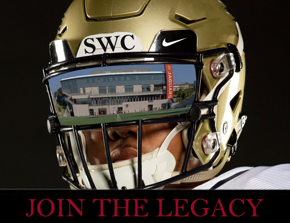 Join the Legacy!  • • • #jointhejags #noonebetter #2020comeandgetit #jointhelegacy #football #jucoproduct #jucofootball #buildtogether #jagsathletics  @Clydelogan21 @edcarberry @CoachMo03306554 @swc_news @SWCfbpic.twitter.com/tHX513ba9G
