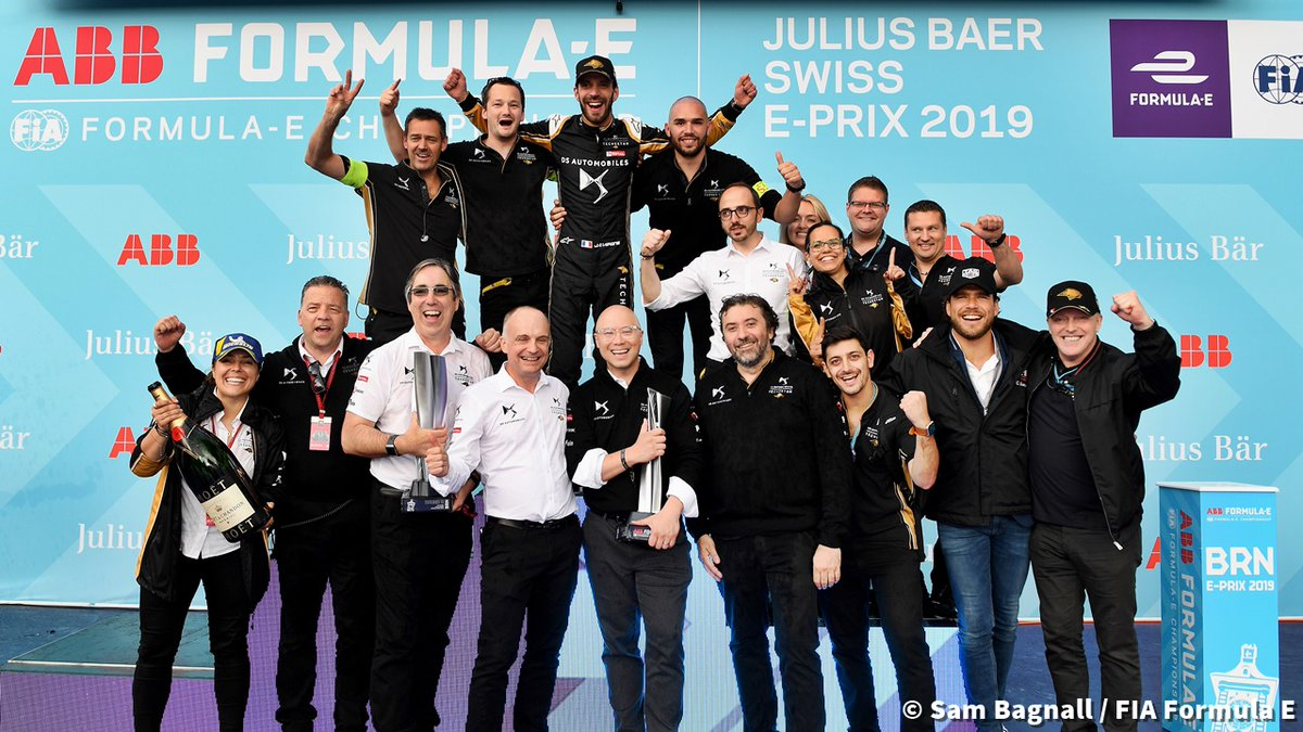 🏆#OnThisDay in 2019 // @JeanEricVergne won the Swiss E-Prix for @DSTecheetah, his 8th @FIAFormulaE victory.   ⚡#ABBFormulaE 🇨🇭#SwissEPrix https://t.co/XRjDSFdTdJ