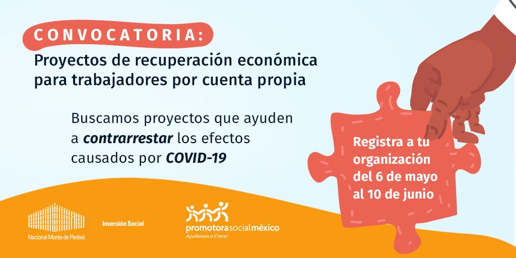 Participa en la convocatoria para el trabajo digno 2020 que estamos lanzando junto con Promotora Social México. https://t.co/716Eye4MLr #TrabajoDigno #Convocatoria #COVID19  https://t.co/716Eye4MLr https://t.co/cnNzEZajLD