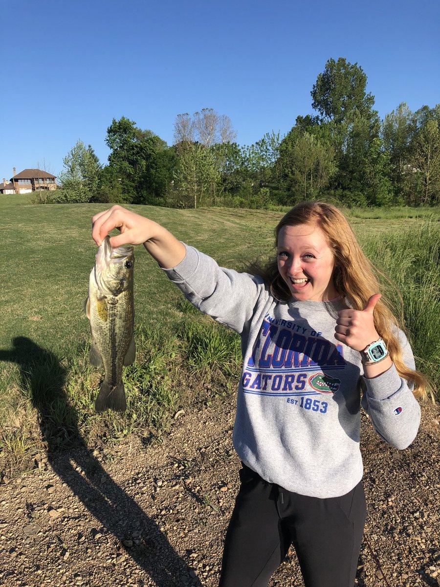 She thinks we're just fishin....