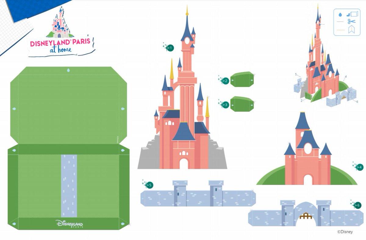 """✨ Récréez la magie de Disneyland Paris chez vous avec cette maquette en papier du Château de la Belle au Bois Dormant ! 🏰  Et pour plus d'acitivités, rendez-vous sur le site """"Disneyland Paris à la maison"""" : https://t.co/3YfqHQxUUN https://t.co/pfoUZrAhTB"""