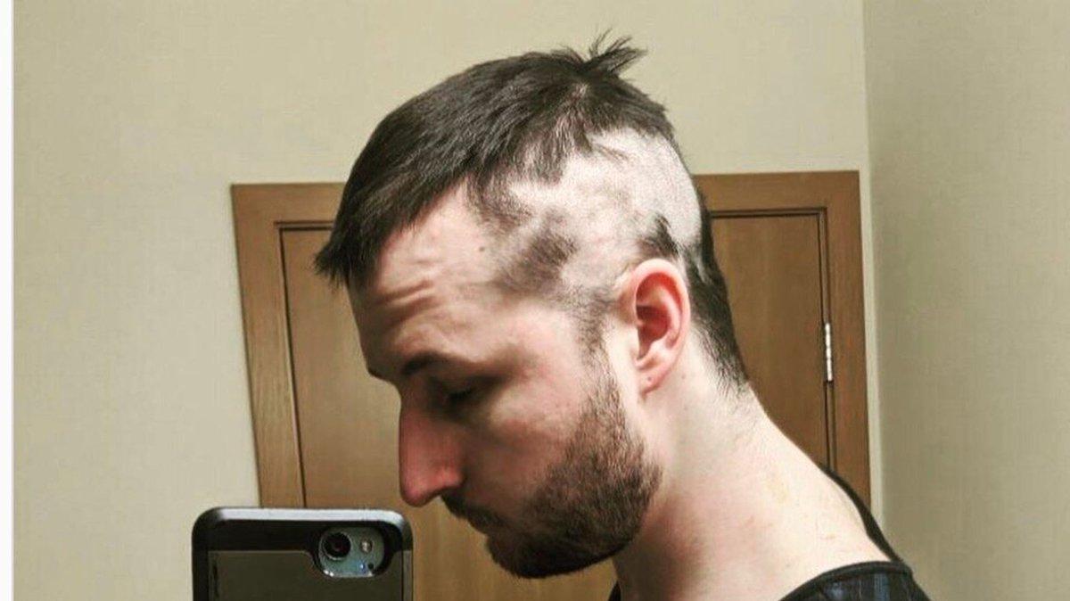 散髪 自分 で