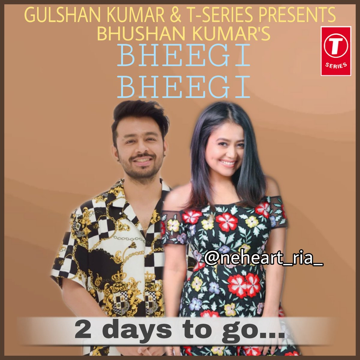 After #ohhumsafar This brother-sister duo is back with #BheegiBheegi .Just can't wait for this song.Song will be out on 11th May on @TSeries YouTube channel. @iAmNehaKakkar @TonyKakkar  #NehaKakkar #TonyKakkar #neheart_ria_ #keepsupporting #keeploving #kbye #neheartspic.twitter.com/KtP37Rxy00