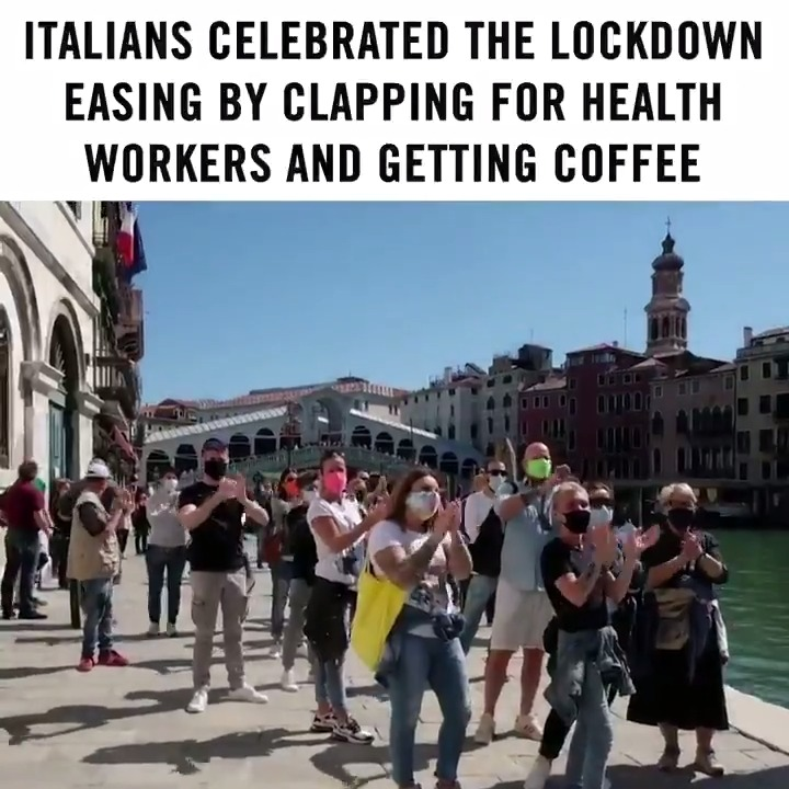 This is peak Italy. ❤️