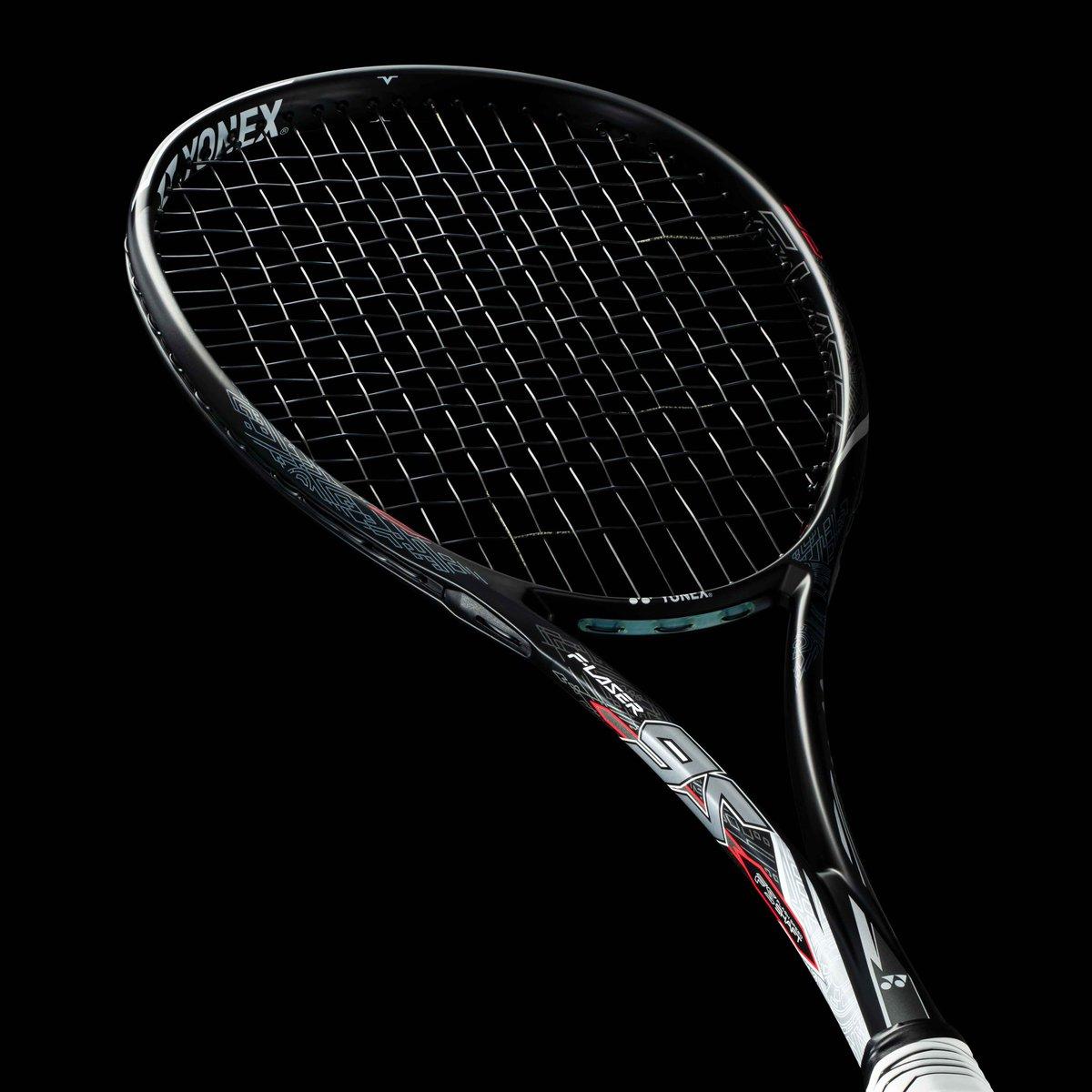 F-LASER 9S【表面】 日本、世界のトップで闘い続ける船水颯人プロの #闘いのDNA を表現し、デザイン化。ベースカラーには艶消しのブラックを採用し、最上級モデルとしての質感を高めます。  #yonex #ヨネックス #softtennis #ソフトテニス #flaser #polyactionpro #船水颯人 #共同開発 https://t.co/KkxdRCJyKx