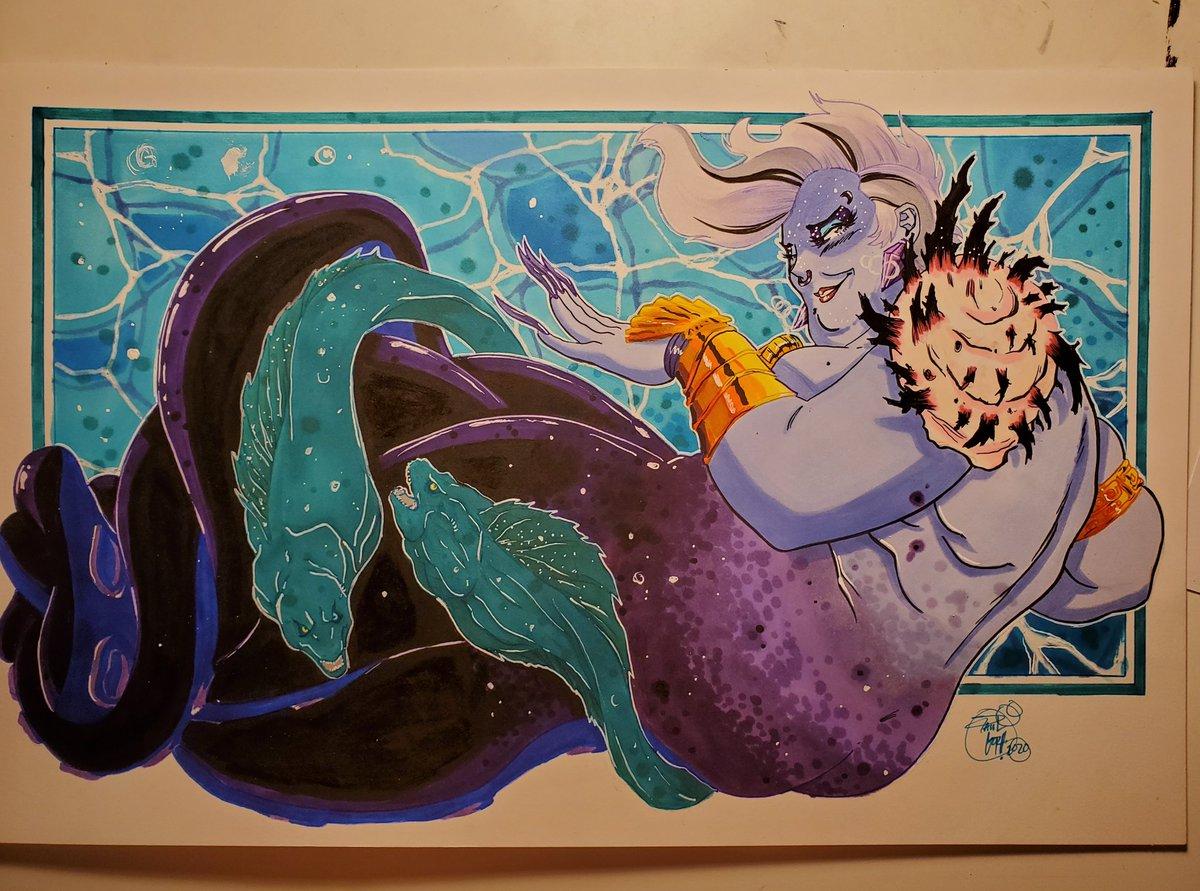 11x17 commission #Ursula