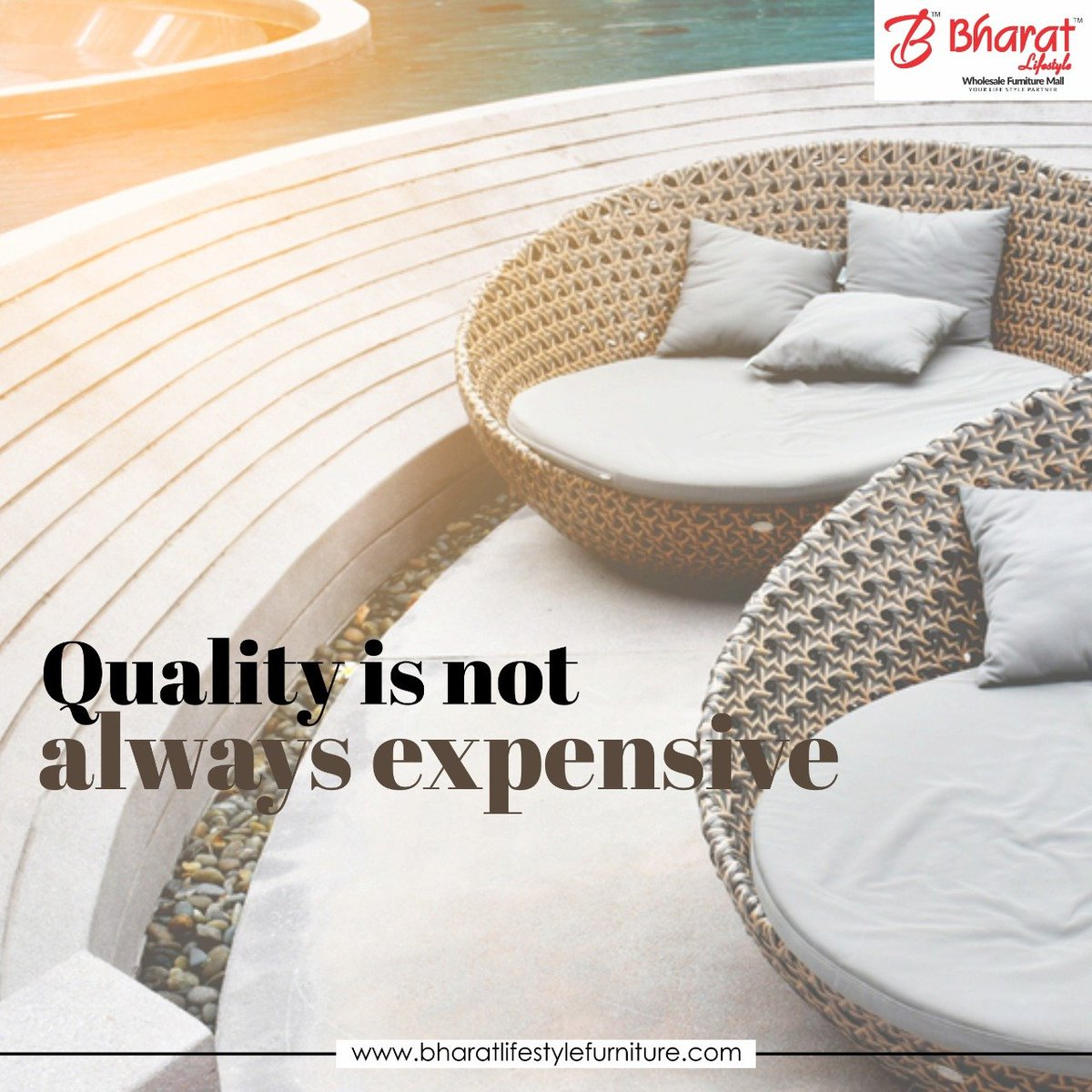 Quality should be expensive but quality is not always expensive with bharat lifestyle. https://www.bharatlifestylefurniture.com/   #chair #furniture #design #designerchair #sofadesign #livingroomdesign #homedecor #furnitureonline #furniturestore #stylishchairs #bls #bharatlifestyleindorepic.twitter.com/GGUOq4XKAn