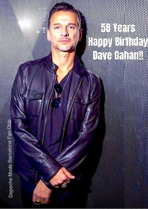 Happy 58th Birthday Dave Gahan