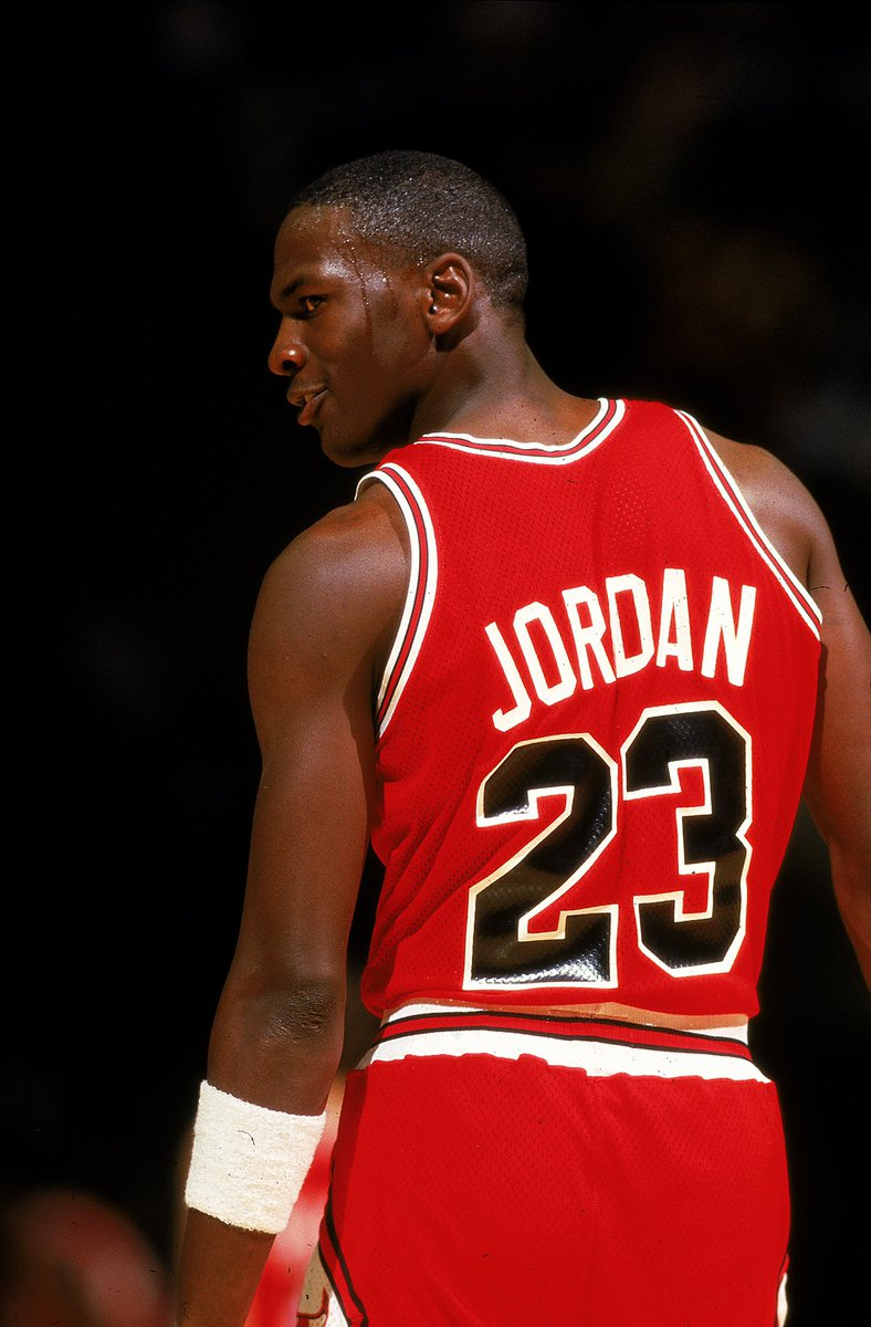 There are few athletes more associated with a number than Michael Jordan and the No. 23. But for exactly 23 games of his NBA career, Jordan wore a number other than his trademark No. 23.  The Last Dance continues Sunday at 9:00 PM ET on ESPN.  📖: https://t.co/O973zY6wlR https://t.co/kSHSeHoOFL