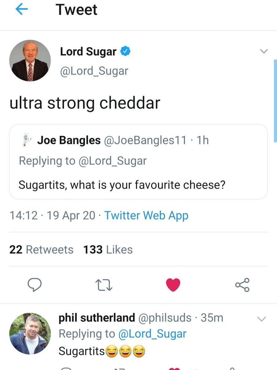 If you want to know the favourite cheeses of Lords, Ladies, Comedians, Writers, Chefs, Cosmologists, Actors and more, you've come to the right place!  @Lord_Sugar @JohnCleese @afneil @ProfBrianCox