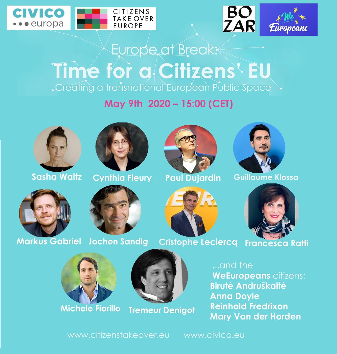 How European democracy can be more inclusive and involve citizens into more participatory forms?   Join the online dialogue via https://t.co/rIHcmJn0mj      #TakeOverEurope #9May #EuropeDay https://t.co/isbMluFf8B