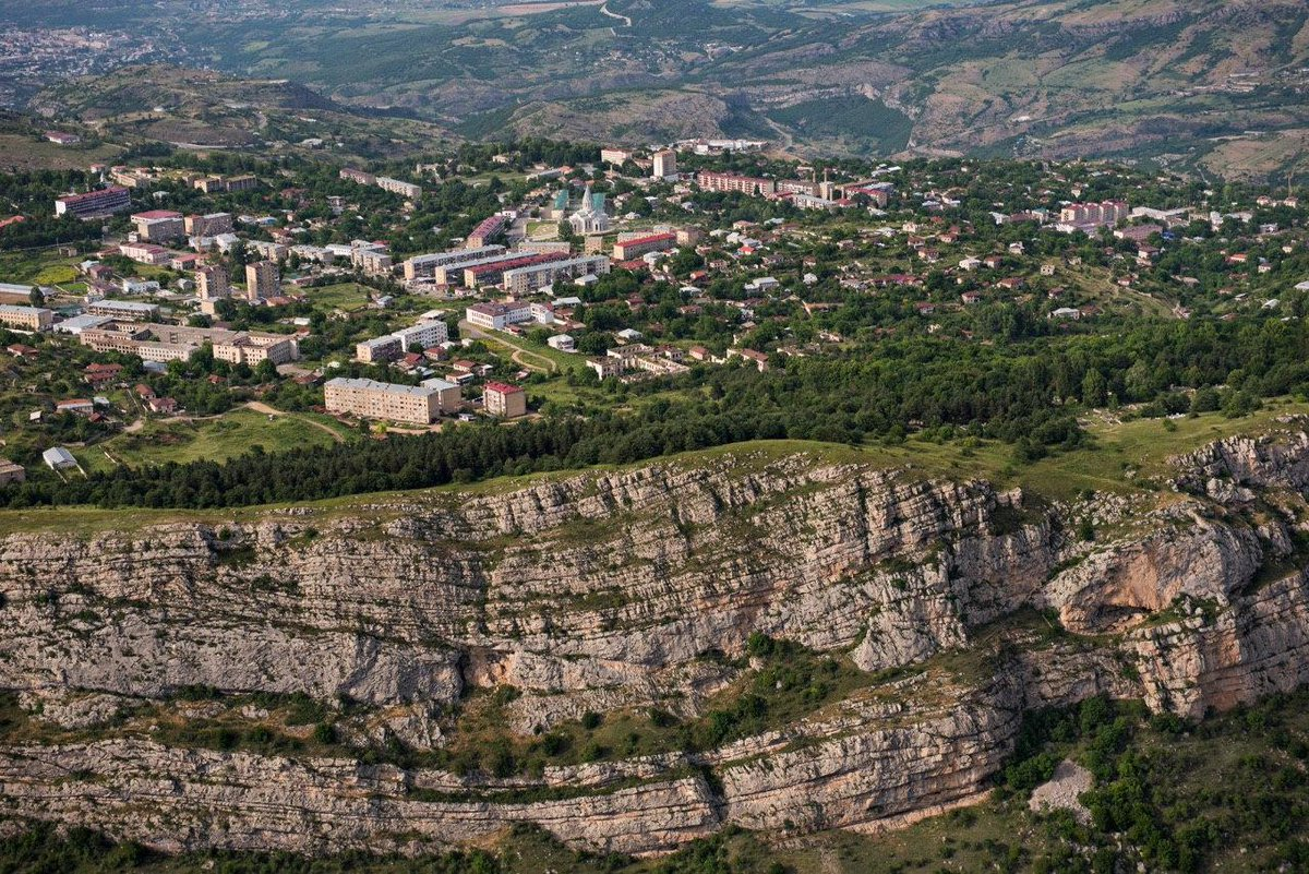 #Artsakh/#NagornoKarabakh city of #Shushi today, 28 years after its liberation! pic.twitter.com/udqsvcL8qH