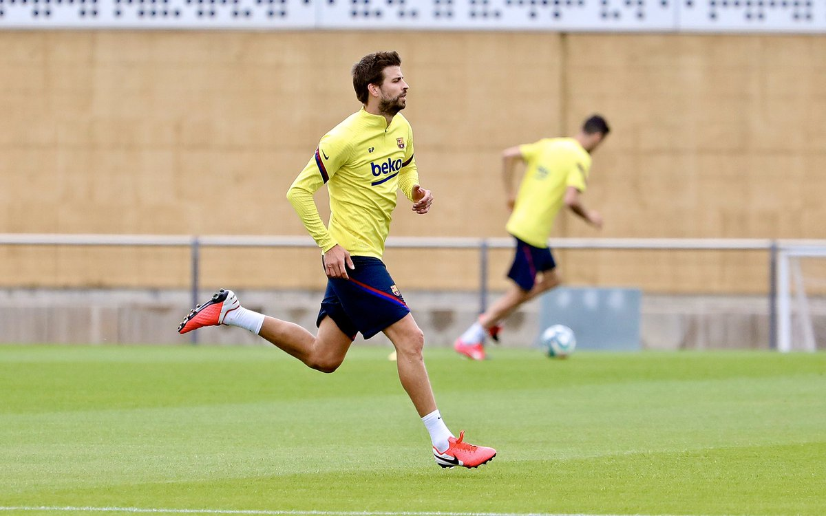 The second day of individual training sessions https://t.co/B6V07qa2lb