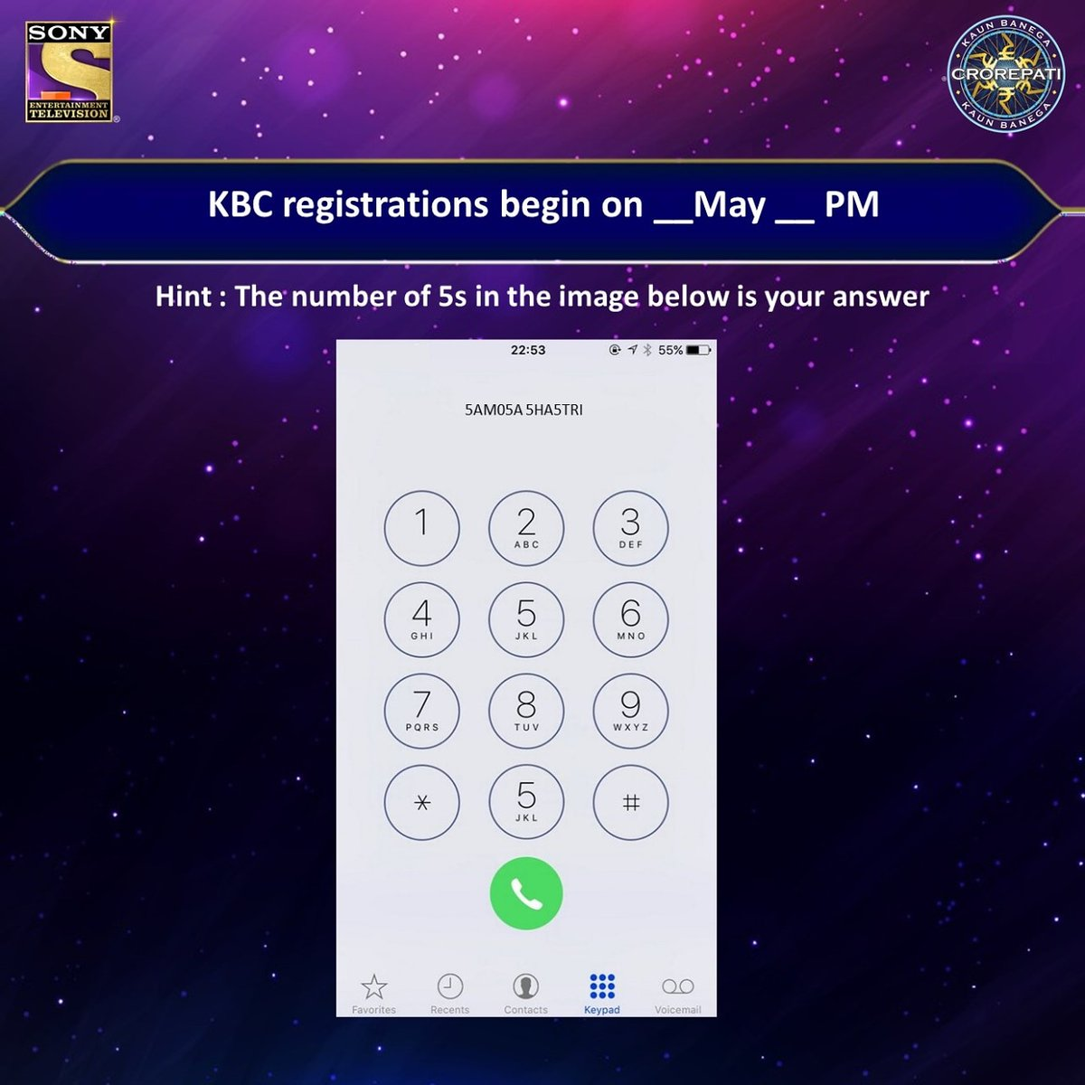 KBC Registration