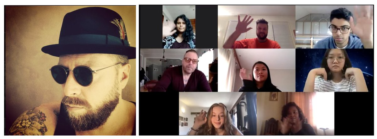 American School Of Antananarivo On Twitter Ib Dp Arts Fashion Design The G11 Diploma Art Class Was Treated To An Online Zoom Interview Session With Accomplished Scottish Fashion Designer Ron Mcdonald Jnr The