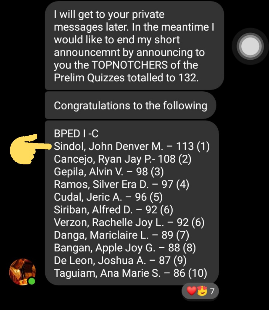 THANK YOU LORD😇