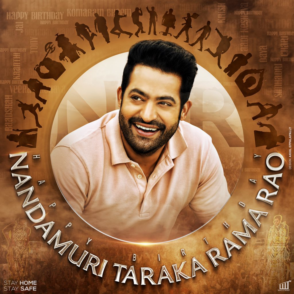Happy to launch @tarak9999 anna's birthday common DP. 😀 Glad that all my fellow fans has made me part of this. #NTRBirthdayCDP https://t.co/aGiWTO2UX3