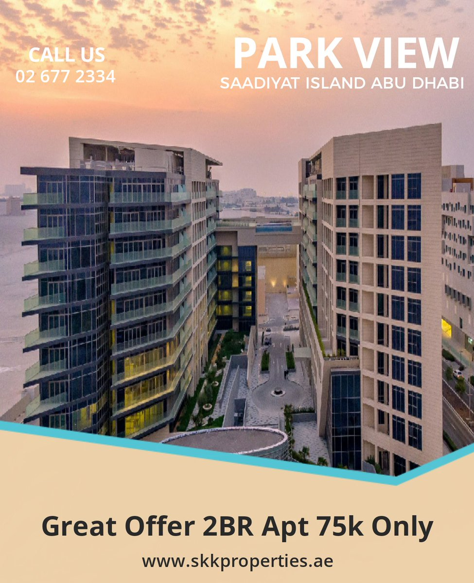 Contact us for more information.  Contact: 026772334 Email: info@skkproperties.ae  #UAE #abiduabi #Properties #Apartments #Spaciousrooms #Good #Community #niceview #maidrooms #skkproperties #idealhome #lookingforapartment #Callus #Viewings https://t.co/nIZ39Uvnww