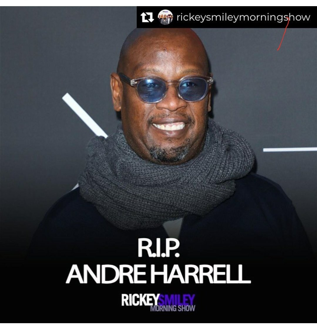 Jesus Christ man! I can't right now!  R.I.P. Great one. #AndreHarrell #RIPAndreHarrell #deadmanrashaun #SaturdayVibespic.twitter.com/3faKOOtGpn