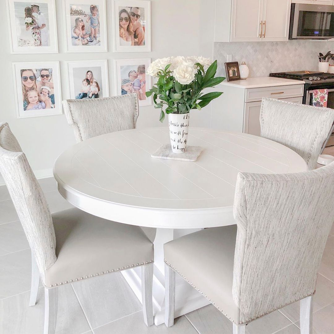Rooms To Go On Twitter What S On The Menu For Brunch This Weekend Featured Cindy Crawford Home Cape Cottage White Round Dining Table Check Out Our Website For Product Availability