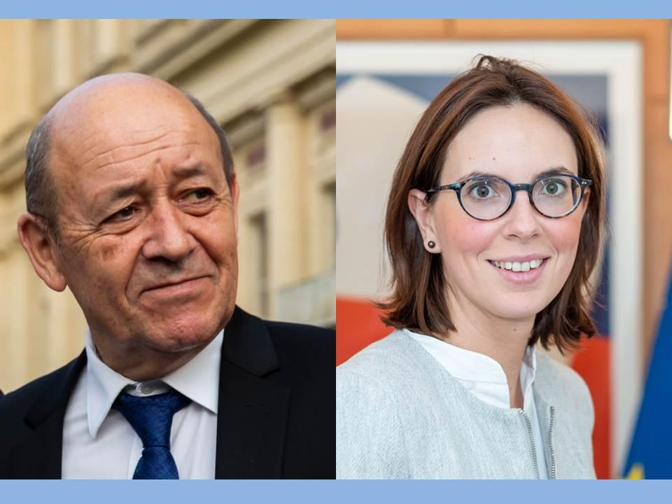 🇪🇺 « L'Europe : la force des solidarités de fait ». Lire la déclaration du ministre @JY_LeDrian et de la secrétaire d'Etat @AdeMontchalin à l'occasion des 70 ans de la Déclaration Schuman. 👉 https://t.co/l1Q15x3tsv   #9mai #JournéeDeLeurope #70Schuman #EuropeDay https://t.co/x6Eb7rFtI9
