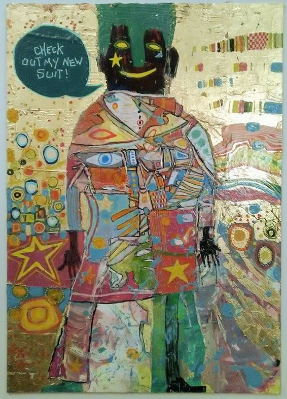 @noelfielding11 #noelsartclub Check out my new suit! I did this a few years ago so I probably don't qualify.