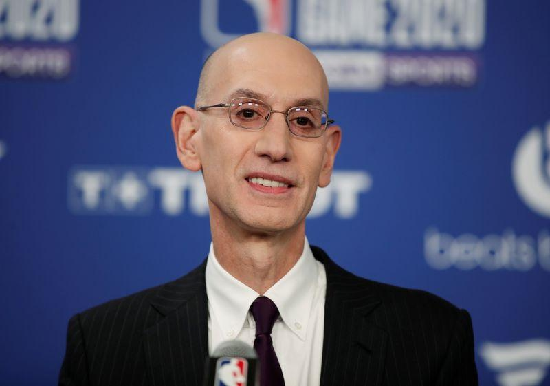 Reports: Silver says NBA doesn't expect fans back this year